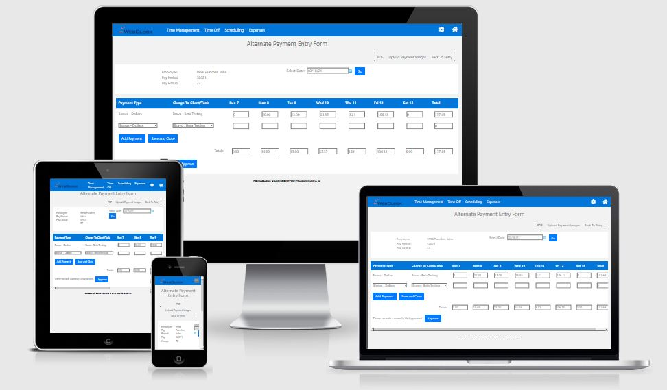 Expense Management Software by ITCS-WebClock